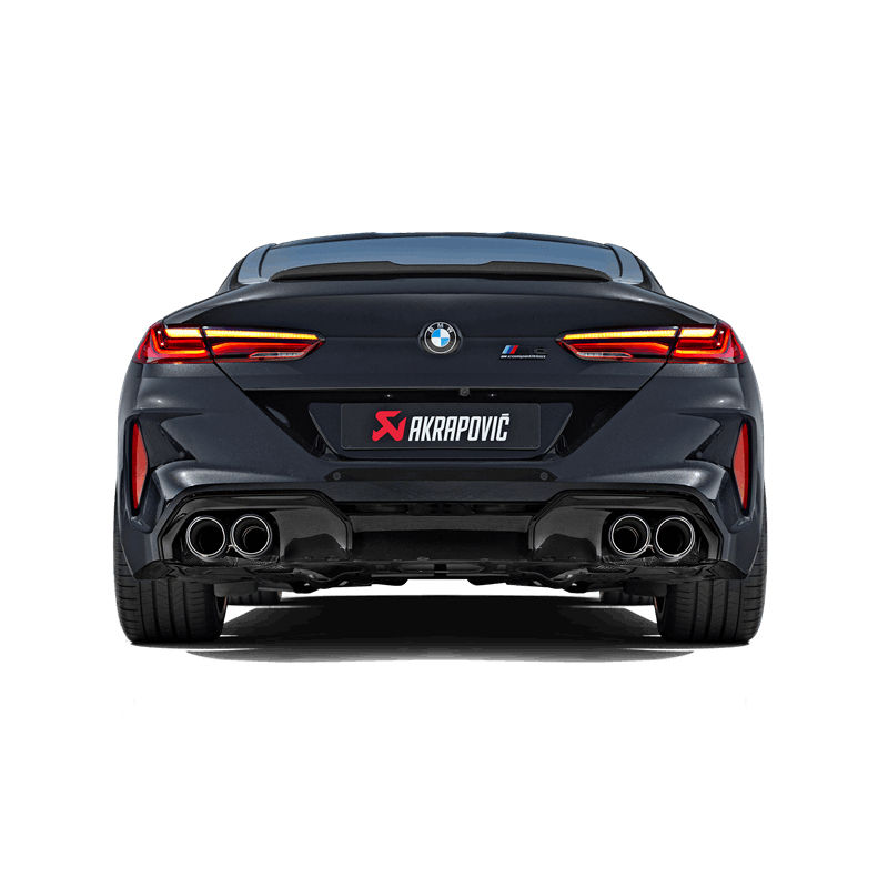 2020 Bmw M8 Competition Coupe For Sale: Akrapovic Slip-On Line (Titan) Passend Für BMW M8 / M8