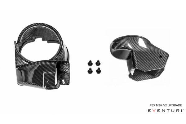 Eventuri Ansaug Carbon Upgrade-Kit auf V2 passend für BMW M3 M4 F80 F82 F83