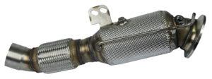 HJS Downpipe für OPF Fahrzeuge passend für B58 Motor M140i M240i 340i 440i 540i 740i Z4 M40i M340i F/G Reihe X3 X4
