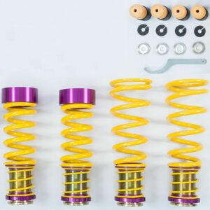KW Gewindefedern passend für BMW M5 F90 (auch Facelift & Competition) für Fahrzeuge mit EDC mit TÜV TEILEGUTACHTEN