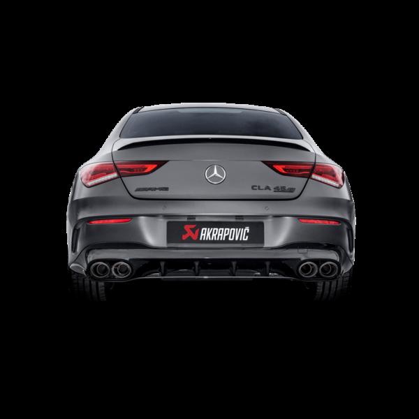 Akrapovic Evolution Line Abgasanlage (Titanium) passend für Mercedes-AMG  CLA 45 (C118/X118)