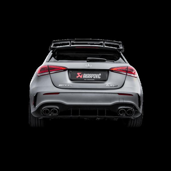 Akrapovic Evolution Line Abgasanlage (Titanium) passend für Mercedes-AMG  A 45 / A 45 S (W177)