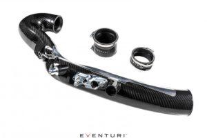Eventuri Carbon Turbo-Rohr passend für Ansaugsystem für Mercedes Benz A35 AMG | CLA35 AMG und A250